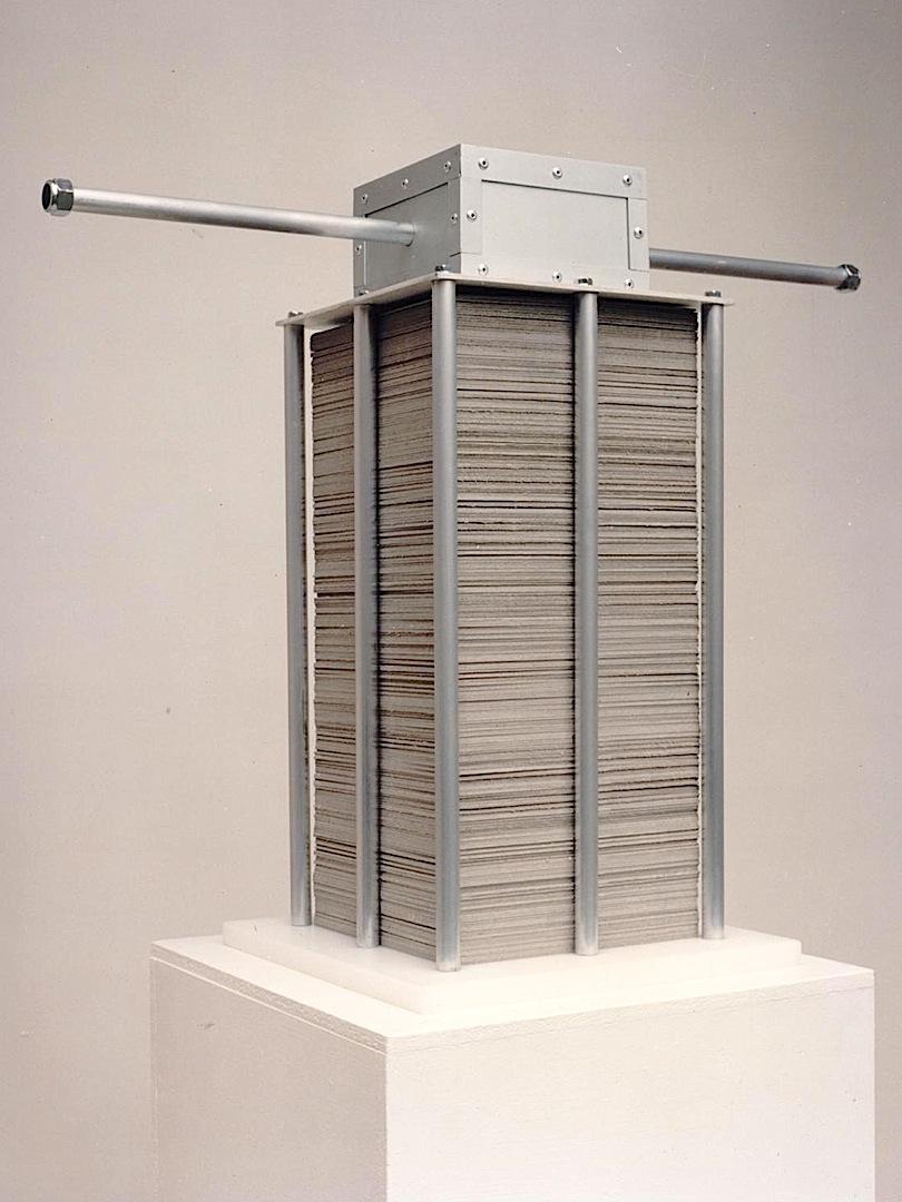 Accumulatrice, Metales, plásticos, cartón -1991-