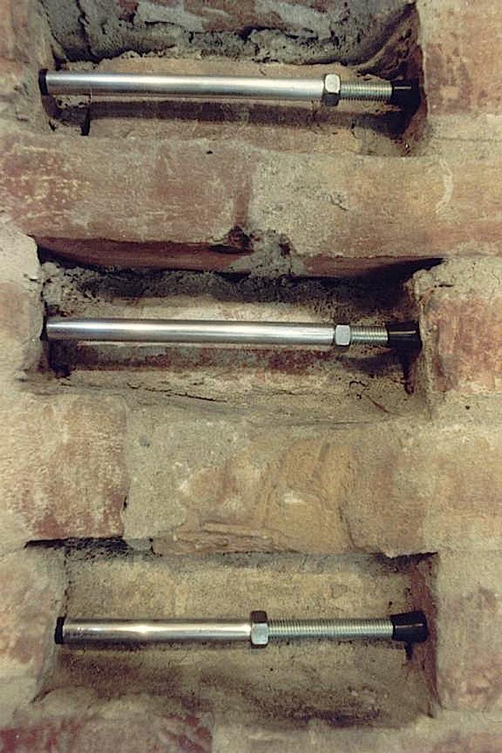 Tensori, Instalación en la Rotonda de San Lorenzo en Mantova -1992-