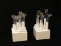 Bisogna stare attenti, materiales plásticos, metal, D.M. lacado cm. 10 x 19,5 x 10 -2009-