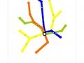 """H.S.L. Folleto (Hydrogenic Underground)"", Impresion digital sobre papel cm. 21x29,7 -2004-"