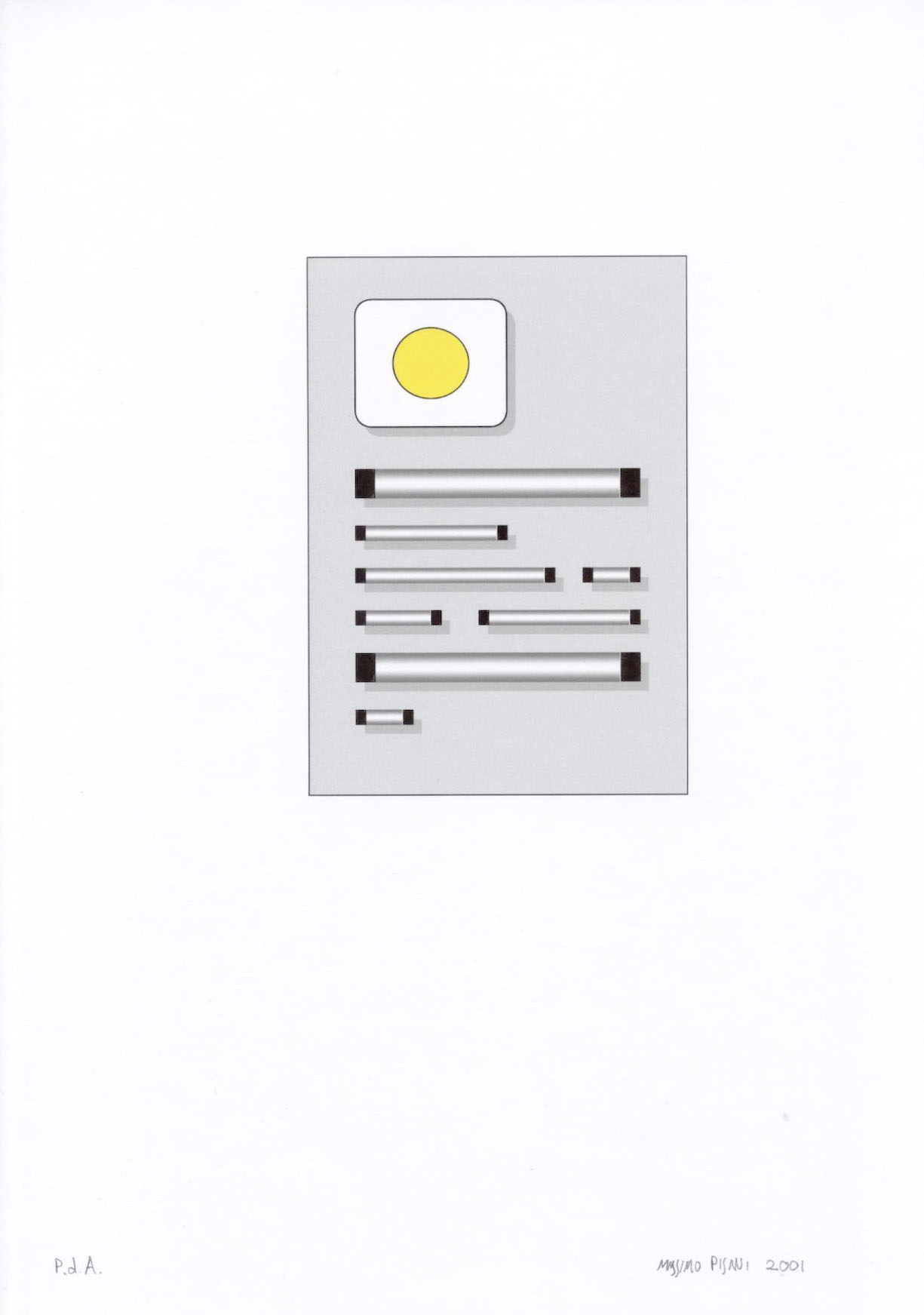Ilustraciónes para la publicación Pulcino elefante cm.21x29,7 -2002- 15