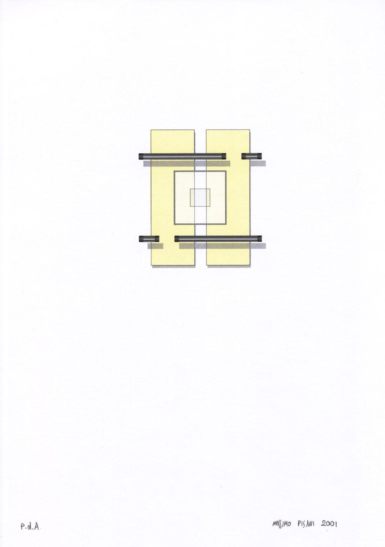 Ilustraciónes para la publicación Pulcino elefante cm.21x29,7 -2002- 21
