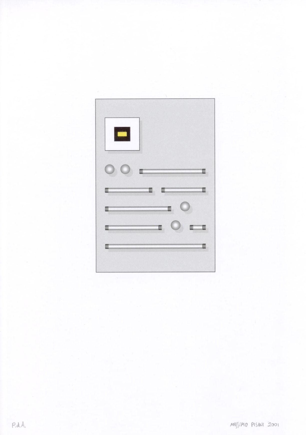 Ilustraciónes para la publicación Pulcino elefante cm.21x29,7 -2002- 7