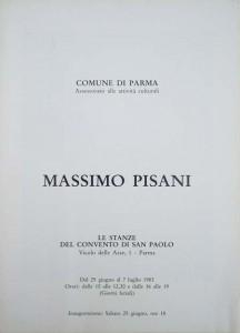 1983 Diptico _Articolazioni_ Stanze del convento di San Paolo Parma (tapa)