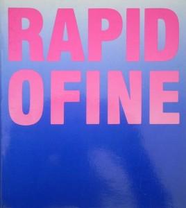 "1986 Catalogo ""Rapido Fine"" Ferrara (tapa)"