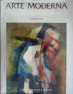 """1993 Catalogo N.º28 """"Arte Moderna (L'Arte Contemporanea dal secondo dopoguerra ad oggi)_ Giorgio Mondadori Editore (tapa)"""