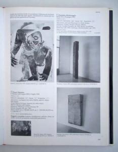 """1994 Catalogo N.º29 """"Arte Moderna (L'Arte contemporanea dal secondo dopoguerra ad oggi)_ Giorgio Mondadori Editore (interior)"""