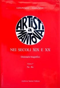 2003 Catalogo _Artisti a Mantova nei secoli XIXº e XXº_ Archivio Sartori -Mantova- (tapa)