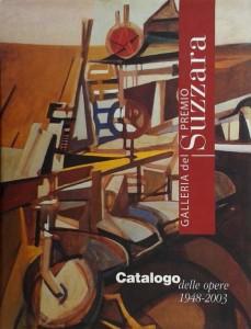 2003 Catalogo _Opere della Galleria del Premio Suzzara_ Suzzara -Mantova (tapa)