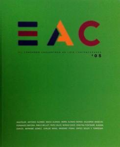 2005 Catalogo _Encuentros de Arte Contemporaneos_ M.U.A. Alicante (tapa)