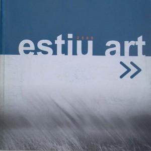 "2008 Catalogo ""Estíu Art""De Reüll Benissa -Alicante- (tapa)"